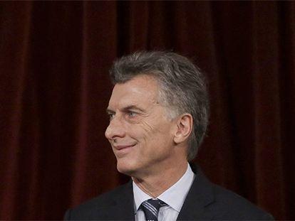 O presidente da Argentina Mauricio Macri.
