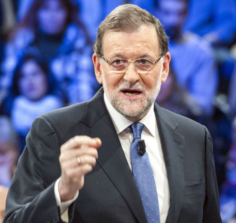 Mariano Rajoy, presidente do governo