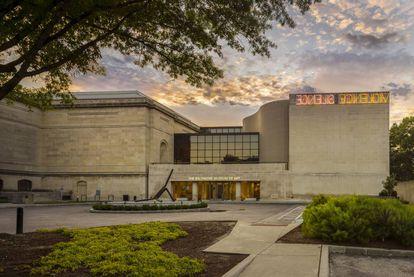 Vista geral do Museu de Arte de Baltimore.
