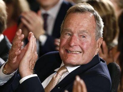 O ex-presidente Bush em uma imagem de arquivo.