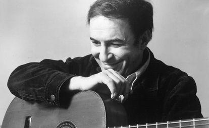 João Gilberto, em uma fotografia de 1970.