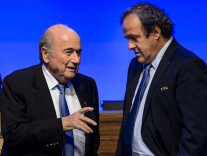 Blatter e Platini, em 2011.