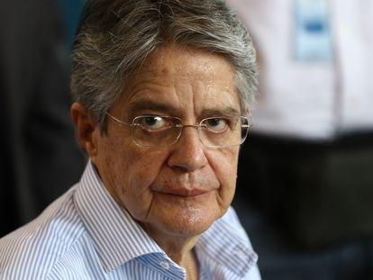 O presidente do Equador, Guillermo Lasso, em Guayaquil, no dia 9 de julho de 2021.