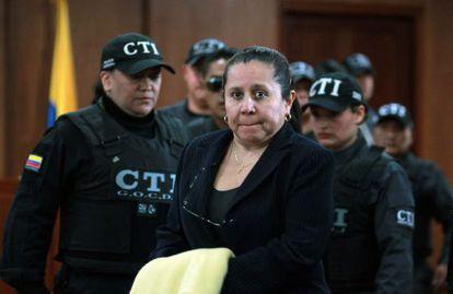 A ex-chefe do DAS da Colômbia, María del Pilar Hurtado.