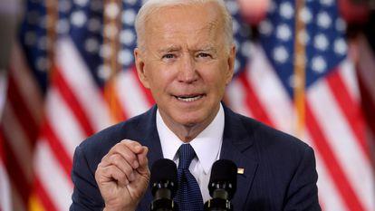 Joe Biden, presidente de Estados Unidos, em março passado.