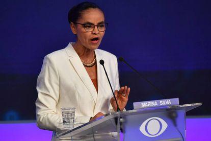 Marina Silva, candidata pela Rede à presidência da República.