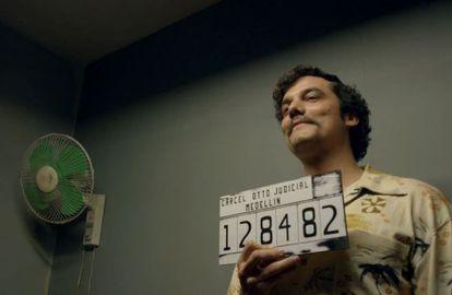 Escobar, fichado pela polícia colombiana nos anos 70 como narcotraficante.