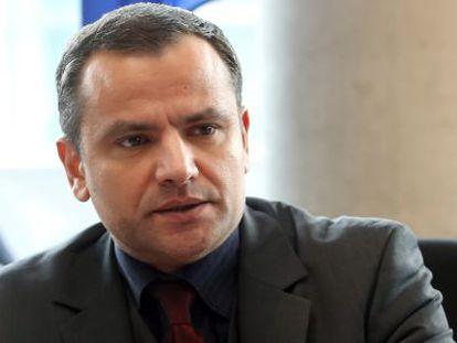 O exdiputado social-democrata Sebastian Edathy em fevereiro de 2013.
