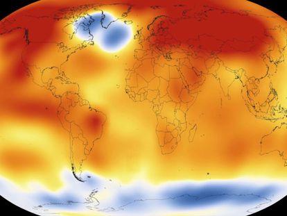Imagem obtida pela NASA hoje.