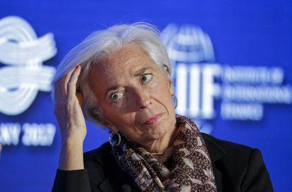 Christine Lagarde, diretora do FMI