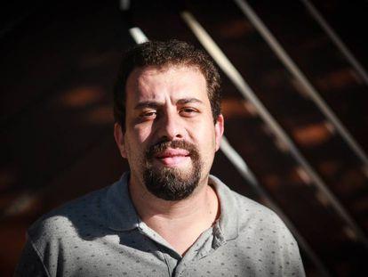 Guilherme Boulos, pré-candidato pelo PSOL à Presidência.