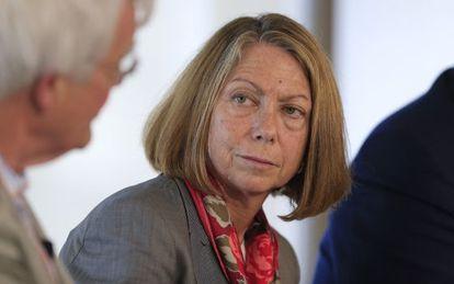 Jill Abramson, a ex-diretora de The New York Times, em um colóquio em 2012 na Flórida.