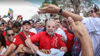 Lula em Monteiro, na Paraíba.