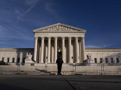 A fachada da Suprema Corte dos Estados Unidos, em 11 de dezembro