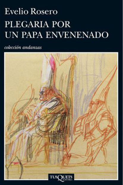 Capa do novo livro de Everio Rosero, 'Prece por um papa envenenado', um elogio à figura histórica de João Paulo I.