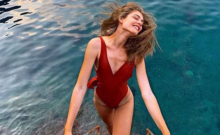 Valentina Sampaio, a primeira modelo trans da Victoria´s Secret.