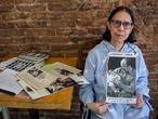Buenos Aires, 23 de marzo de 2021Reportaje fotográfico a Claudia Olga Romana Allegrini en el barrio porteño de Villa Ortúzar.Fotos: Silvina Frydlewsky / El Pais