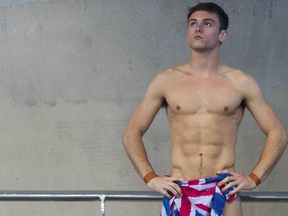 Tom Daley em um momento do Campeonato Europeu, disputado em maio passado, em Londres.