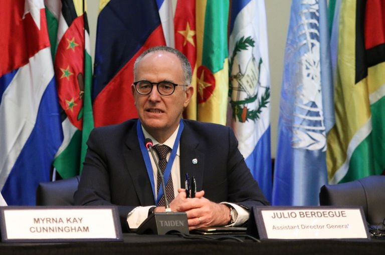 Julio Berdegué, representante da FAO para a América Latina e o Caribe, numa foto de arquivo.