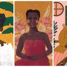 Tia Ciata, Tereza de Benguela e Antonieta de Barros, mulheres negras que marcaram a história do Brasil e retratadas na biografia ilustrada 'Narrativas Negras' (editora Voo, 2020).