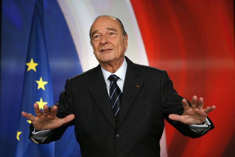 O ex-presidente da França, Jacques Chirac.
