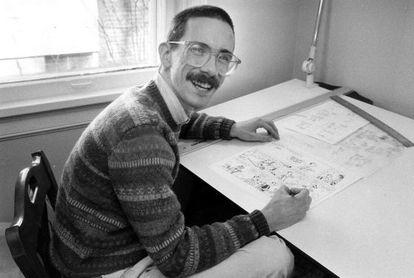 A única imagem de Bill Watterson.