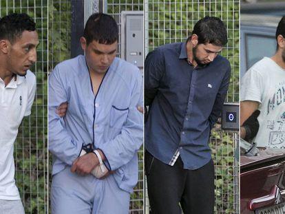 Dris Oukabir, Mohamed Houli Chemlal, Salah O Karib e Mohamed Aallaa.