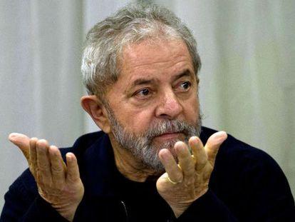 O ex-presidente Lula, em março deste ano.