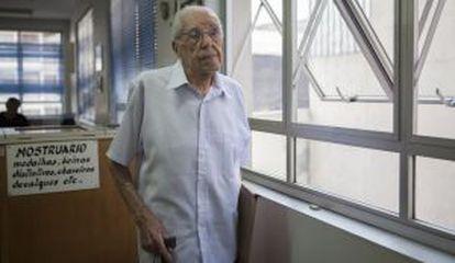 O ex-combatente João Ferreira de Albuquerque.