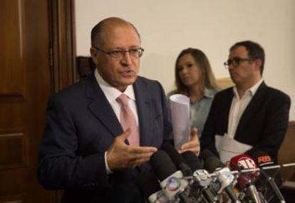 Geraldo Alckmin (PSDB), em seu segundo mandato seguido como governador de São Paulo, pedalou com recursos do Metrô.