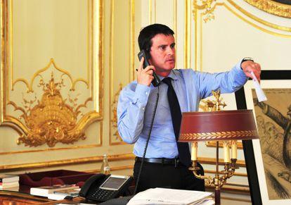O primeiro-ministro da França.
