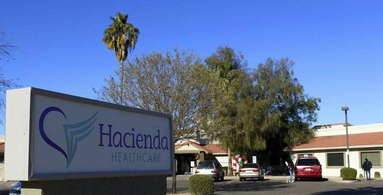 A clínica Hacienda HealthCare em Phoenix, Arizona.