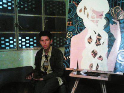 José Abraham Copado, um dos irmãos assassinados.