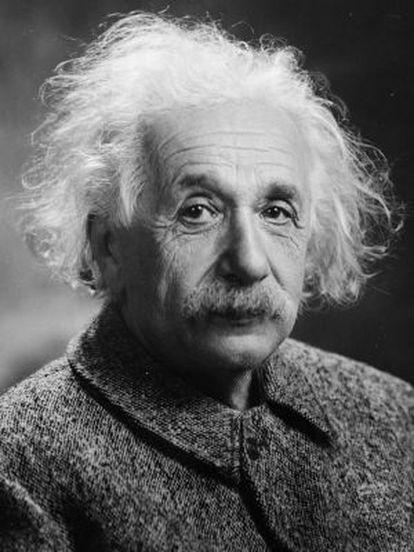 Albert Einstein, quando já era um famoso físico em EUA, em 1947.