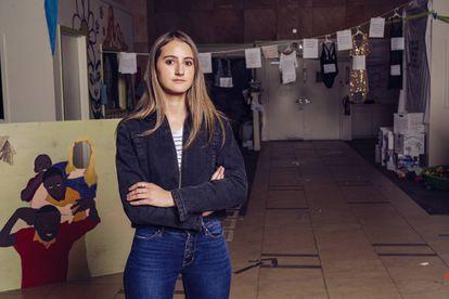 Paloma Delgado, aluna do colégio Bethesda-Chevy Chase.
