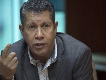Henri Falcón, durante um evento em Caracas