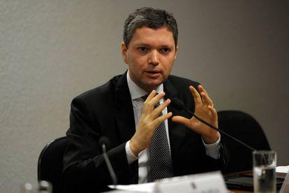 Fabiano Silveira, exonerado do cargo de ministro da Transparência, Fiscalização e Controle.