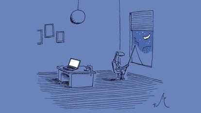 Ilustração de Tute.