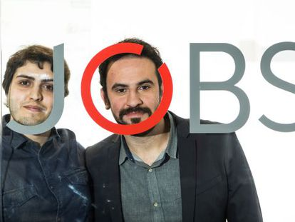 Henrique Calandra e Diogo Miloni, sócios da Jobs for Refugees