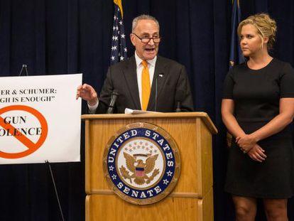 O senador democrata Schumer, ao anunciar sua proposta na segunda.
