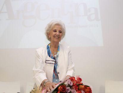 Estela de Carlotto na Feira Internacional do Livro de Guadalajara