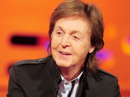O cantor britânico Paul McCartney.