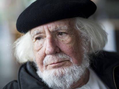 O poeta Ernesto Cardenal, em 2010.