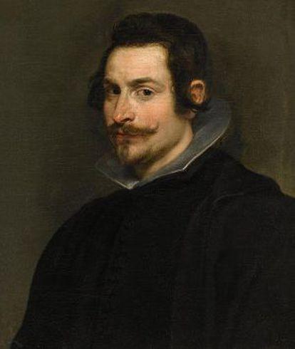 'Retrato de um caballero' de Rubens.
