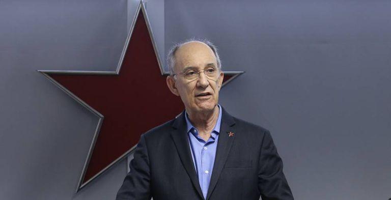 O presidente nacional do PT, Rui Falcão.