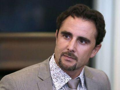 O especialista em informática Hervé Falciani, que revelou a fraude no HSBC, em 2013.