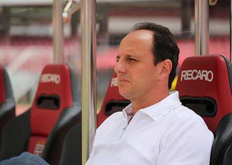 Rogério Ceni, o novo treinador do Tricolor.