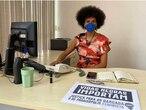 A covereadora Carolina Iara, da bancada feminista do PSOL.