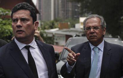 Moro e Paulo Guedes nesta quinta-feira.