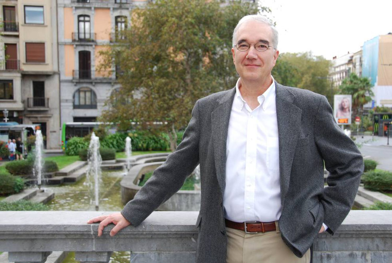 O biólogo Wiiliam Friedman, em uma recente visita a San Sebastián, na Espanha.